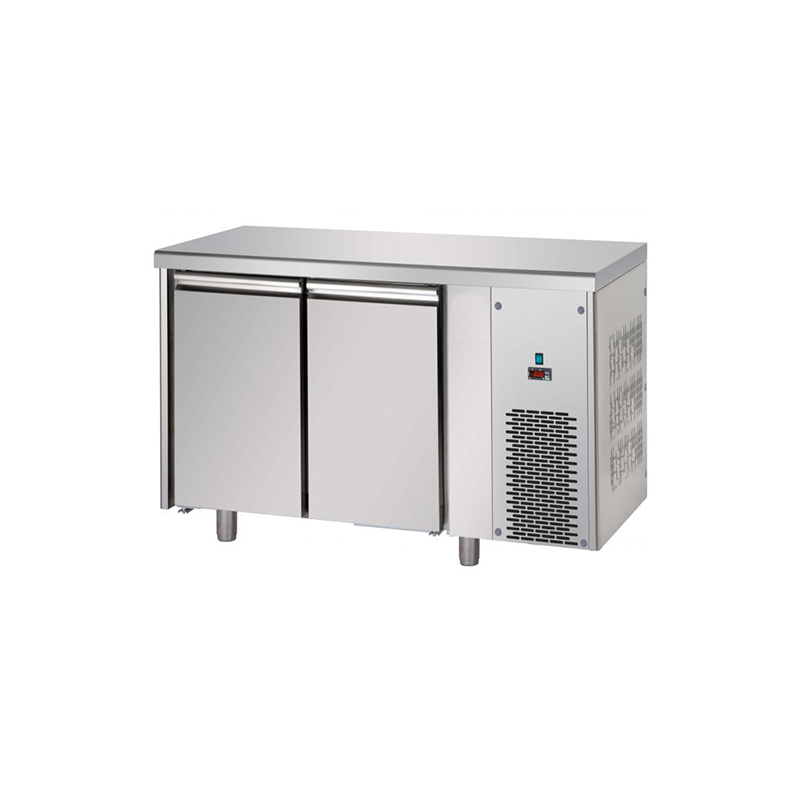 Refrigerated counter 4 doors without working top