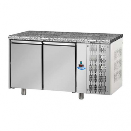 Refrigerated pastry counter 2 doors