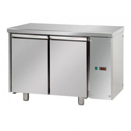 Refrigerated pastry counter 2 doors predisposed for remote refrigerating units