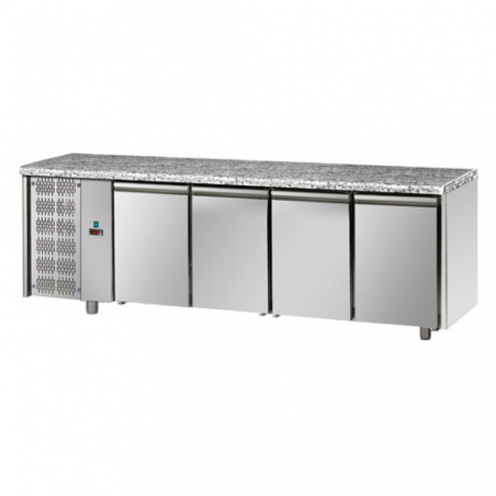 Refrigerated pastry counter 4 doors left series