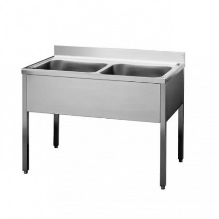 Sink units with base on legs 120x70x90