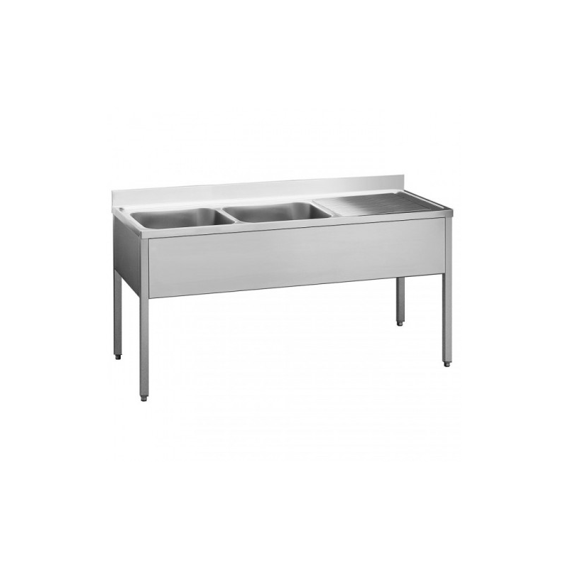 Sink units with base on legs 180x60x90