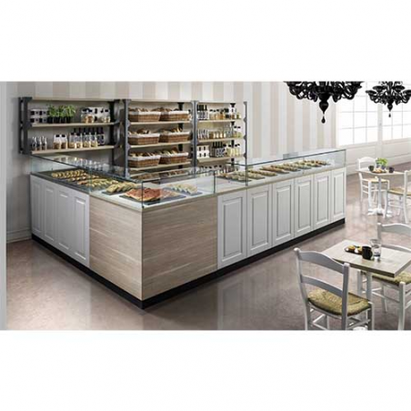 Banco bar refrigerato L1500
