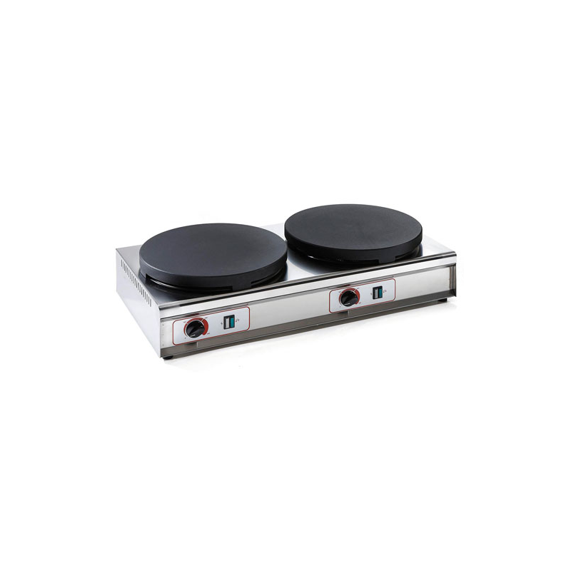 Crepes maker with two hot plate diam. 35 cm