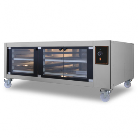 Electric oven bakery for 2 trays 60X40