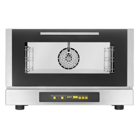 Digital combi steamer oven 4 trays
