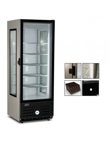 Refrigerated display freezer 415 Lt Frost GLAMOUR NS 400