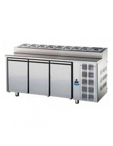 Refrigerated counter 2 doors Snack