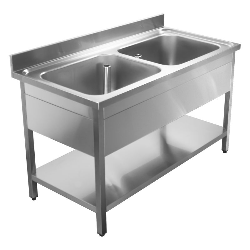 Sink units with base on legs 120X60X90