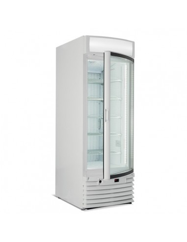 Vertical low temperature showcase with capacity 650 Lt