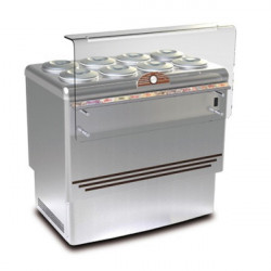 Banco gelateria 8 carapine inox