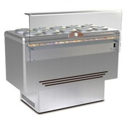 Banco gelateria 10 carapine inox