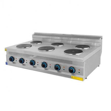Electric cooker 4/6 plates SERIE 700 SMED3