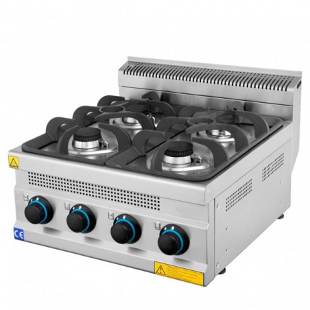Gas cooker 4 burners SERIE 600