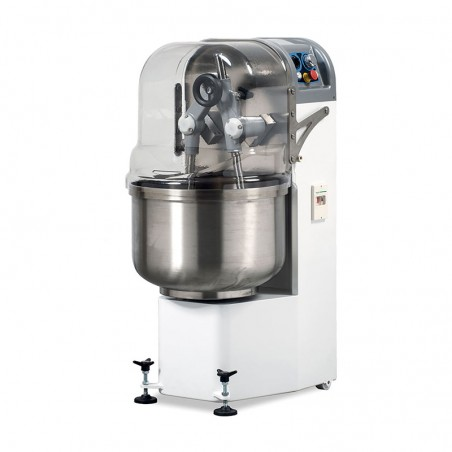 Forked kneading mixer