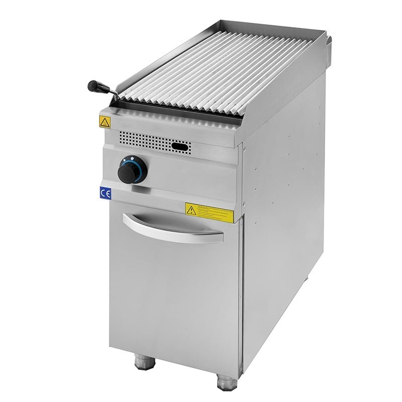 Lavastone grill 400 mm with cupboard