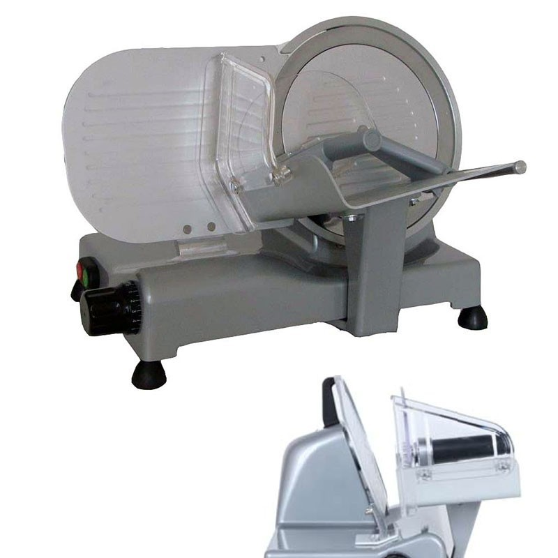 Gravity feed slicer blade 195