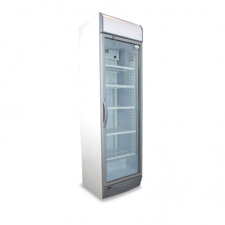 Upright display cooler...
