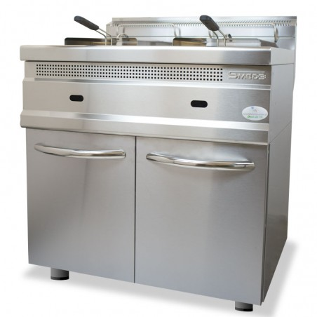 Gas fryer 12 + 12 lt SERIE 700 SMED3