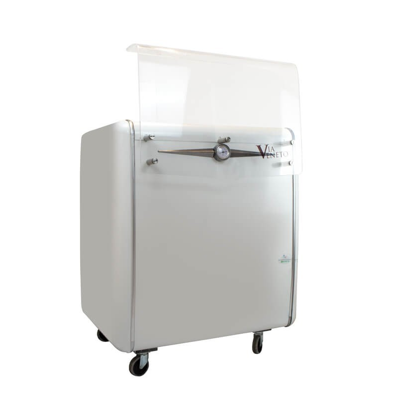 Ice cream scooping cabinet Via Veneto 4c