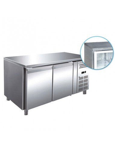 Refrigerated table 2 doors 282 Lt -2/+8°C Serie 70