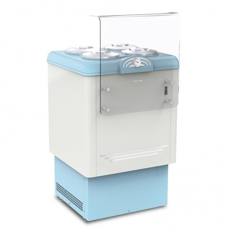 Ice cream scooping cabinet...