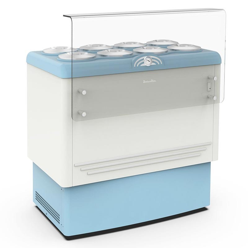 Ice cream counter 8 carapine capacity