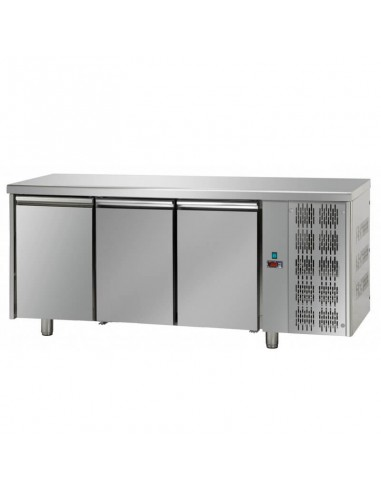 Refrigerated counter 3 doors