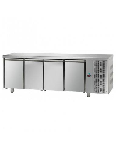 Refrigerated counter 4 doors