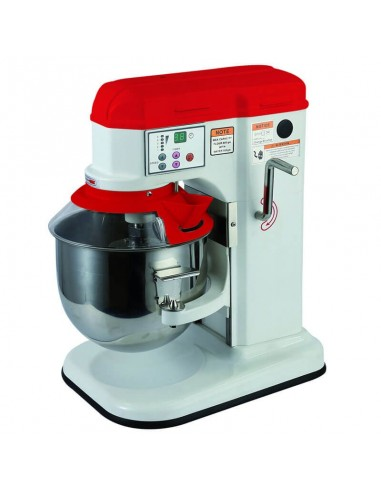 Planetary mixer 7lt digital