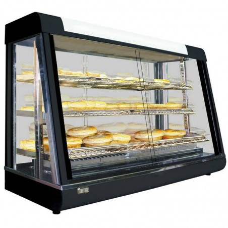 Hot counter showcase 1200 mm width