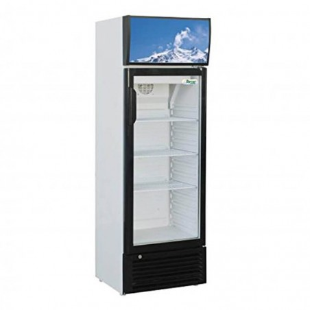 Refrigerated showcase for drinks 171lt