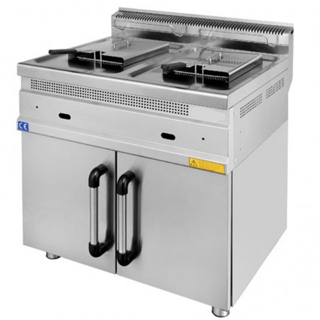 Gas fryer 12 + 12 liter SERIE 700