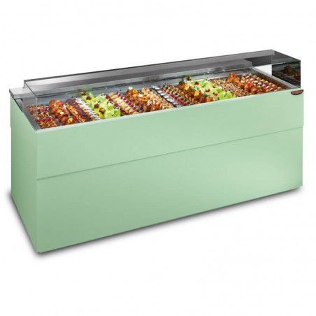 Refrigerated display showcase from 2846 mm