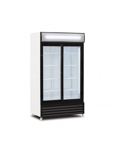 Upright display cooler +2/+10° FV 110S 1000 LT