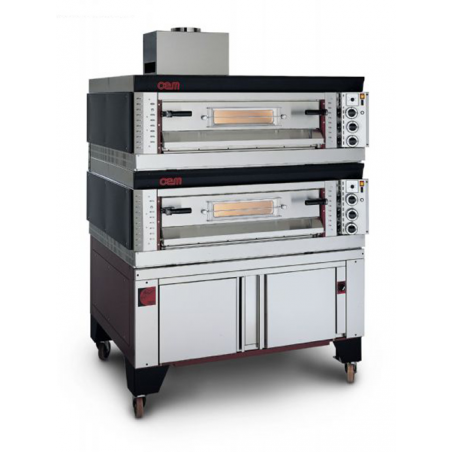 Single chamber gas Gpl oven 9 Pizze OEM