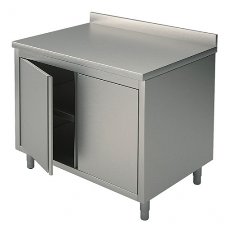 Cupboard tables with swing doors 90x70x90