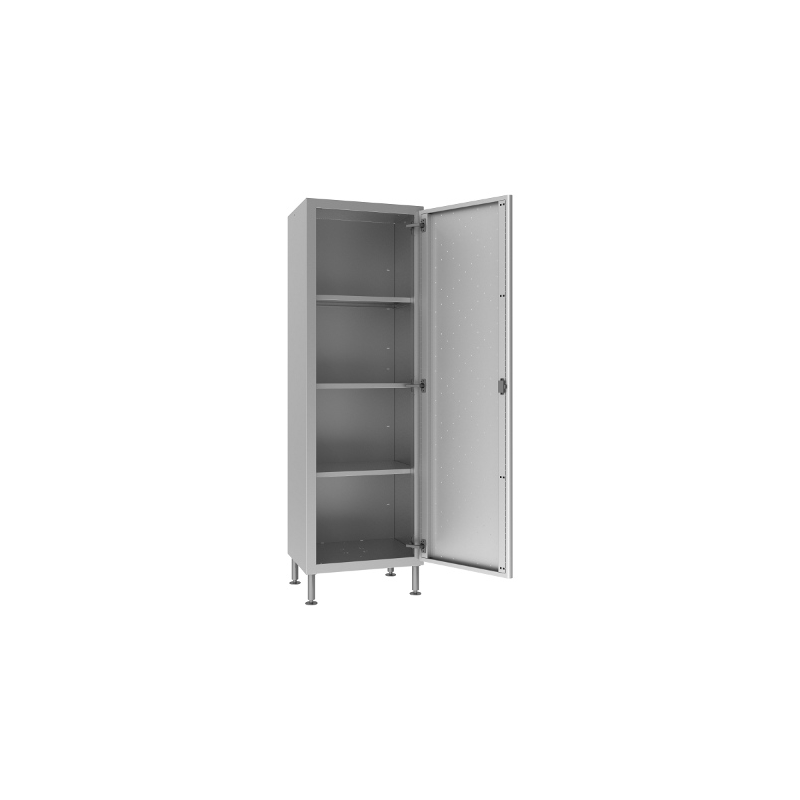 Stacked cupboards with swing doors 60x70x200