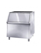 Commercial ice bins