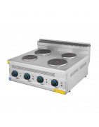 Kitchen 700 series in steel. Best cooking equipment on arrediattrezzature.it