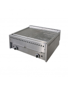 Lava-stone grill for restaurant, supplies for tourism accommodation, catering and food service activities