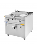 Commercial boiling pan, catering equipment and supplies