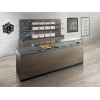 Multipurpose counter for rotisserie buffets, bakery and breakfast, best equipment online sales