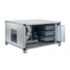 Three phase activated carbon filtration unit