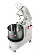 Removable bowl spiral mixer or tilting head