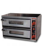 Furnaces for pizzerias with various sizes and models (electric, gas and mixed wood) for all the needs of professional chefs.