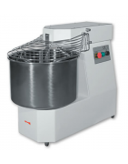 Commercial spiral dough mixers, prices and characteristics, different models
