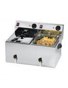 Fryers for commercial kitchens, table top version, choose your model according to your needs