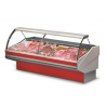 Counters low ventilation refrigeration system